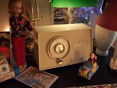 真空管ラジオ